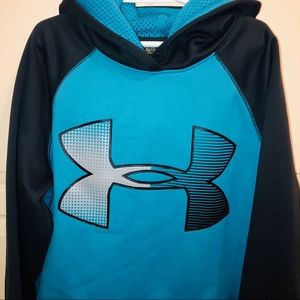 Under armour fleece hoodie large